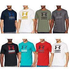 Under Armour UA Para Hombre Gl Fundación Informal Mangas Cortas Escote Redondo Camiseta Top Camiseta