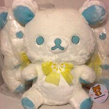 San-X Rilakkuma XL Snow White Winter Plush - Toreba Japan Exclusive