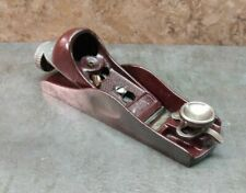 New ListingVtg. Stanley No. 60-1/2P Low Angle Adjustable Throat Block Plane Usa woodworking