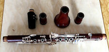 High grade rosewood Bb key clarinet silver plated keys 17 keys by Eastern music