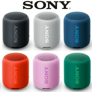"WATER-RESISTANT SONY SRS-XB12 EXTRA-BASS PORTABLE WIRELESS ""BLUETOOTH"" SPEAKER"