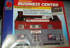 Life-Like Downtown Business Center - Building Kit HO Scale 1:87