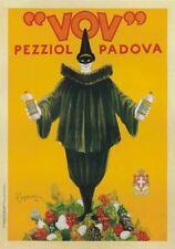 "TARGA VINTAGE ""VOV PEZZIOL PADOVA"" PUBBLICITA', ADVERTISING, POSTER,PLATE, RETRO"