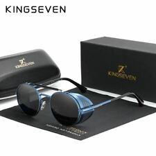Retro Round Steampunk Sunglasses