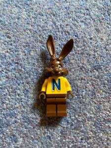 LEGO STUDIOS NESQUIK BUNNY QUICKY MINIFIGURE - PROMOTIONAL RABBIT RARE 4051
