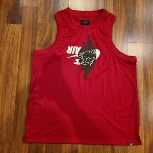 NWT Nike Air Jordan Jumpman Classic Wings Jersey Red BQ8479-687 Men's Size XXL
