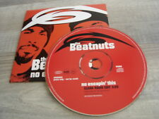 hiphop rap CD single *PROMO* THE BEATNUTS No Escapin' This GREG NICE & SMOOTH