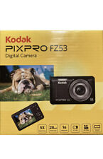 Kodak PIXPRO Fz53-bl Point-N-Shoot Digital Camera With 2.7 LCD Blue PERFECT NEW!