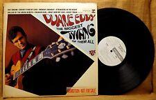 WHITE LABEL PROMO MONO ROCK LP: DUANE EDDY BIGGEST TWANG OF THEM ALL R-6218
