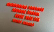 10pcs Mars Rouge câbles ouvert Peigne Set pour 2 mm 3 mm ou 4 mm gaine-Choisir N'importe 10
