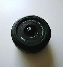 Panasonic Lumix G H-H020 20 mm f/1.7 Lentille Asphérique Pour DSLR Caméra