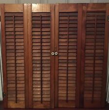 "Wood Window Shutters 29.5"" X 29.5"""