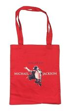 Michael Jackson King Of Pop Red Tote Bag New Official Merch