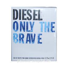 (EUR 86,53/100 ml) Diesel Only the Brave Homme Eau de Toilette EdT 75 ml NEU OVP