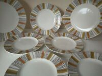 Vintage 1970s PLATES Spares China Midwinter Sienna Jessie Tait Marquis Quee