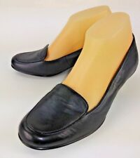 bdfe1a3a1e8 Sofft Wos Shoes Loafer Heels 1042801 US 8.5 M Black Leather Slip-On Work  2897