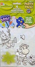The Backyardigans Party Pack ~ 4 Reusable Doodle Boards & 4 Fingerpaint Sponges
