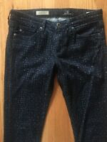 Adriano Goldschmied The Stevie Ankle Slim Straight Women's Jeans 26 R Polka Dot