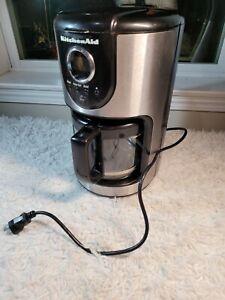 kitchenaid coffee maker kcm111ob 12 cup