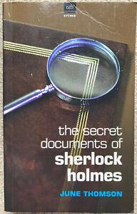 Secret Documents of Sherlock Holmes by Thomson, June 1st Edition Paperback 1997