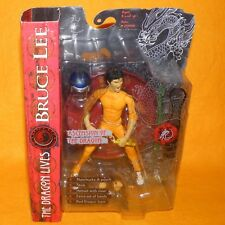 2001 Art Asylum The Dragon Lives Ascension of the Dragon Bruce Lee figure cardées