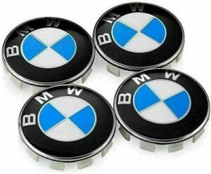 4X BMW Emblem Logo Badge Hub Wheel Rim Center Cap 68mm Set of 4 covers