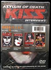 KISS IN A BOX - Asylum of Death Kiss Interview Includes 4 Kiss DVD's