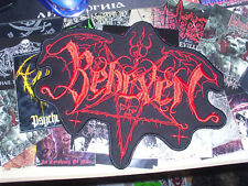 Behexen Backpatch Patch Shape Black Metal Judas Iscariot