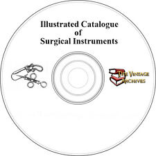 Vintage 1876 Illustrated Catalog of Surgical Instruments on CD