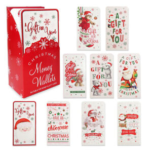 Christmas Money Wallets with Envelopes Christmas Cards High Quality Xmas Present