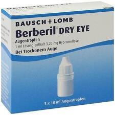 BERBERIL Dry Eye Augentropfen 3X10 ml PZN 10346277