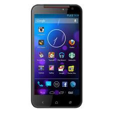 Téléphones mobiles noir Android avec écran couleur