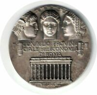 ITALY MEDAL PROVINCIAL COUNCIL ECONOMY OF ROME NATIONAL EXHIBITION OLIVICULTURE