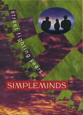 Simple Minds - Street Fighting Years - The Book, by Alfred Bos, Virgin Books