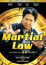 Martial Law Complete Collection DVD Set Series Show TV Sammo Kam-Bo Hung Seasons
