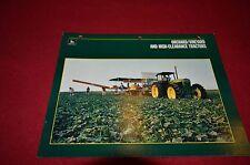 John Deere Orchard Vineyard & High Clearance Tractor Dealer's Brochure DCPA