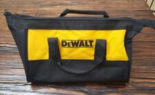 DeWalt Black & Yellow Tool Bag with zipper and double handle
