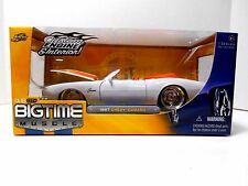 2005 Jada Toys Big Time Muscle  '1967 White Chevrolet Camaro  Convertible'  1/24