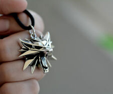 The Witcher 3  medallion pendant sterling silver (Mark 2)