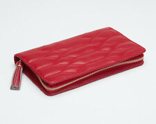 WOLF 324872 Caroline Jewelry Portfolio Red Quilted FREE US SHIPPING