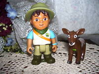 Diego on Safari Figure Set Dora the Explorer
