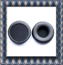 Cuero Oído Amortiguador Almohadillas Para AKG K81DJ K581DJ Sony MDR-NC6 75 mm Nuevo