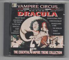 VAMPIRE CIRCUS COLLECTION CD HAMMER HORROR / DRACULA / VAMP