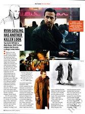 Ryan Gosling 1-page clipping 2017 Killer Look in Blade Runner 2049