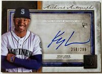2020 TOPPS MUSEUM COLLECTION * KYLE LEWIS AUTO #/299 ON CARD RC! ROY! MARINERS!