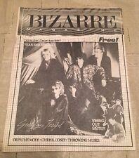 Bizarre Punk Rock Era Bands Magazine Depeche Mode Bananarama David Bowie