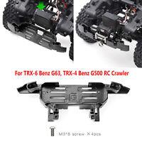 GRC Metal Winch Front Bumper Base Pour TRX-4 Benz G500 TRX-6 Benz G63 RC Crawler
