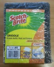 Professional Scotch Brite Griddle Refills: Pads and Screens 101mm X133mm Ref 462