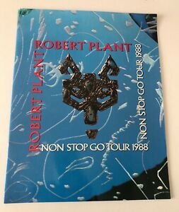 RARO TOUR BOOK ORIGINALE ROBERT PLANT NON STOP GO TOUR 1998 PERFETTO