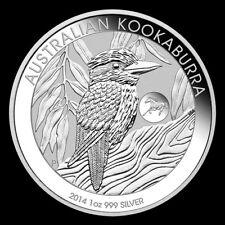 2014 1 oz Silver Australian Kookaburra Horse Privy GEM BU Coin Perth Mint #3